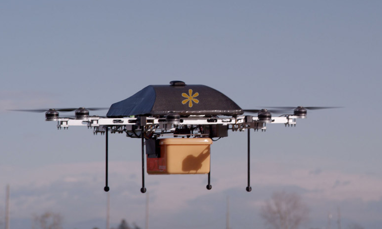 Drone Drop Drone